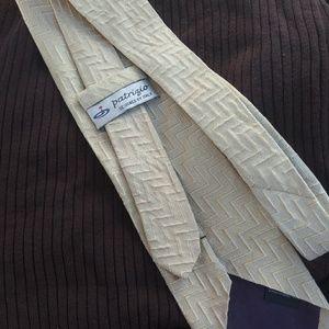 Patrizio Italian Designed 100% Silk Neck Tie EUC